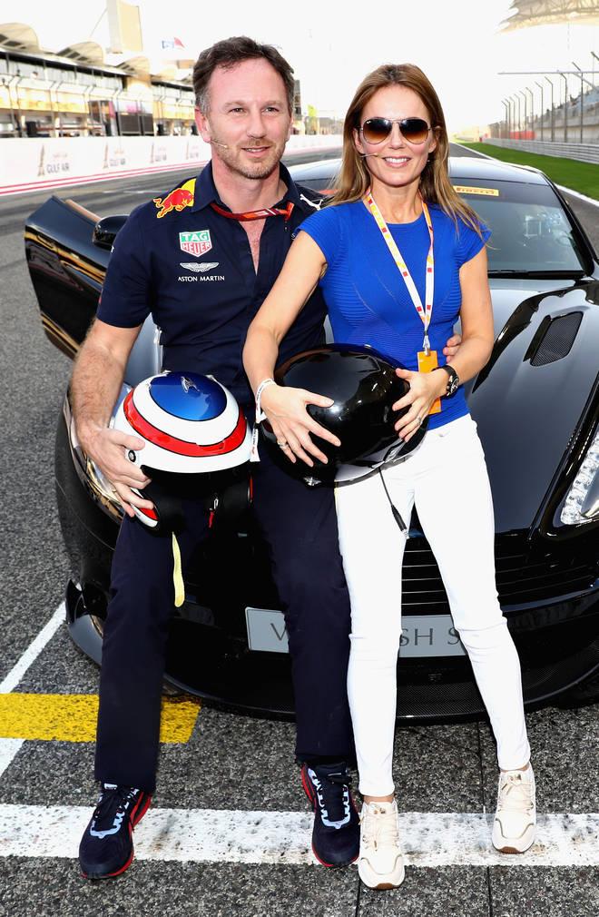 Geri is married to Red Bull Racing boss Christian Horner