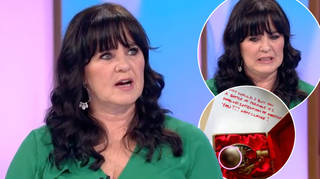 Coleen Nolan spotted something unusual in a picture her friend sent her
