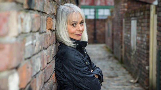 Sharon Bentley is back on Coronation Street