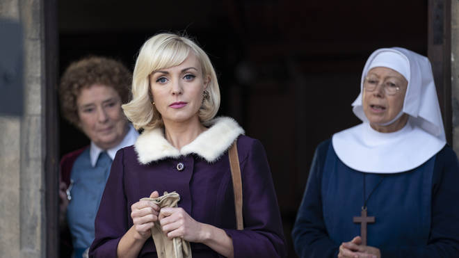 Call the Midwife's Trixie Franklin is played by Helen George
