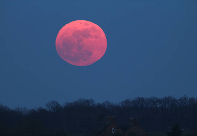 The Super Pink Moon will light up the skies on April 27