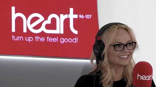 Emma Bunton couldn't hide her excitement when Jamie Theakston grilled her about the tour rumours