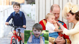 Prince Louis looks adorable in a new photo taken by his mum Kate