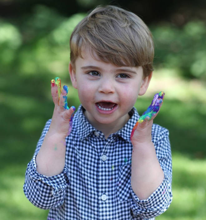 Photos of Prince Louis were shared for his second birthday