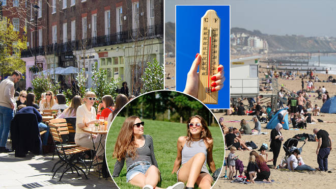 The weather is set to heat up over the Bank Holiday