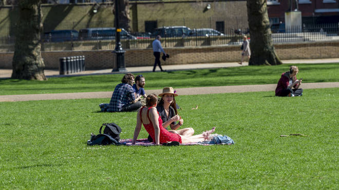 Brits will be enjoying sunny weather over the May Bank Holiday