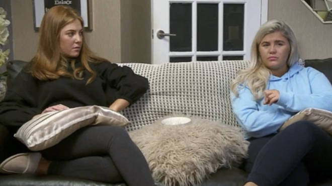 Abbie and Georgia joined Gogglebox in 2018