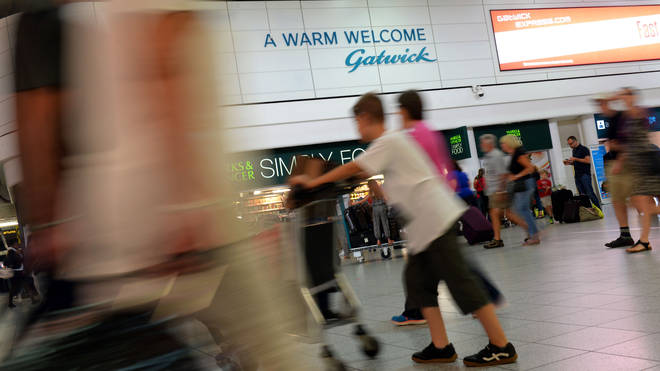 Workers at Gatwick have planned strikes over pay