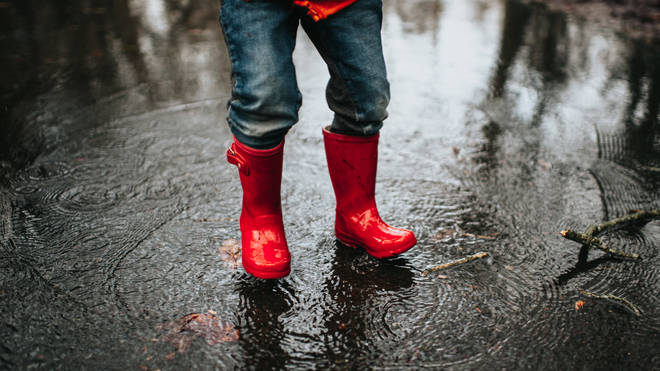 Watch out for puddles this weekend