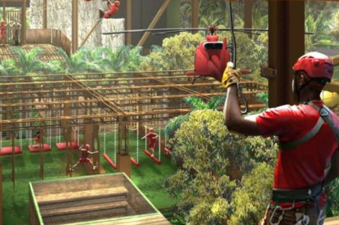 ITV have released pictures of what the Jungle Challenge will look like