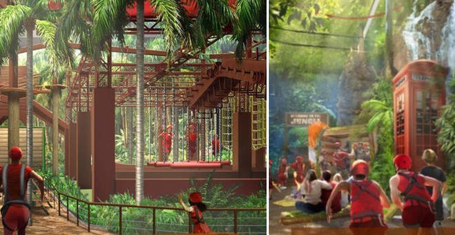 Jungle Challenge is set to open in Manchester this year