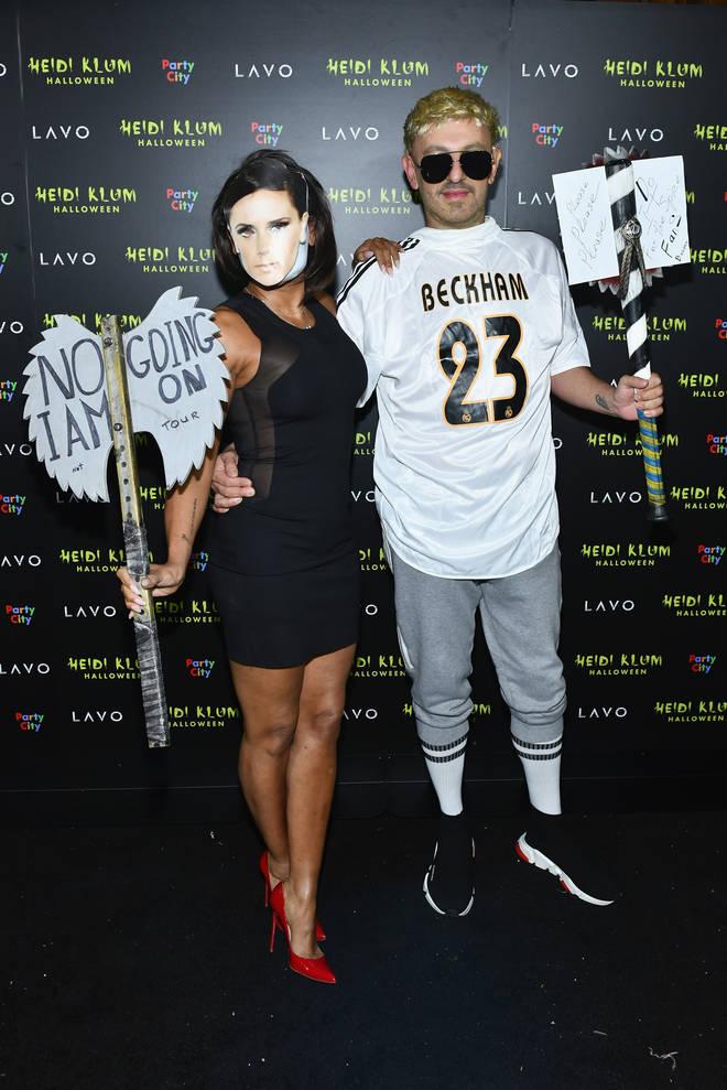 Mel defended her Halloween costume as Victoria Beckham