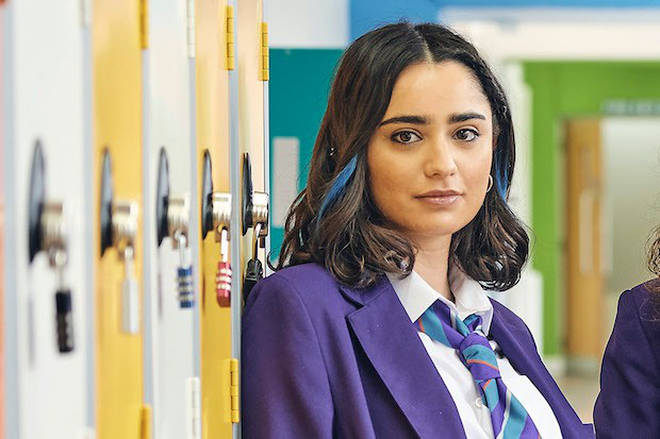 Fizza is one of the new characters in Ackley Bridge season four