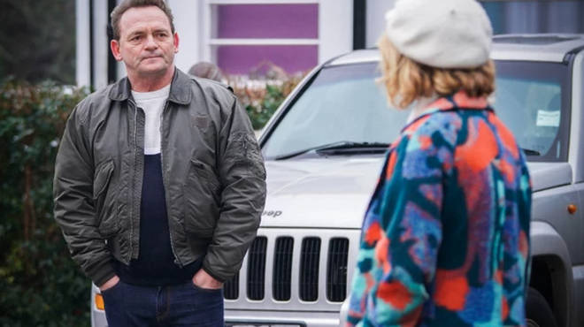 Bolly Mitchell meets new EastEnders character Estelle Jones