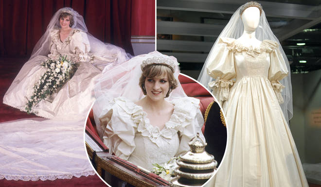Princess Diana's wedding gown will be put on display at Kensington Palace