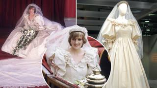 Princess Diana's wedding gown will be put on display at Kensington Palace