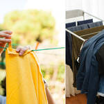 Residents have been banned from hanging their washing outside
