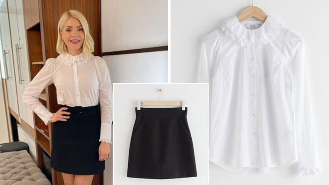 Holly Willoughby is wearing an outfit from & Other Stories