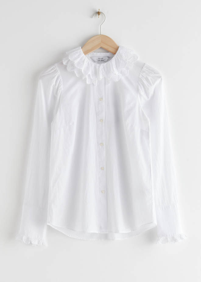 Holly Willoughby's shirt is from & Other Stories