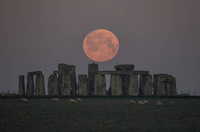 If you missed the Supermoon last night, you might be able to see it later today