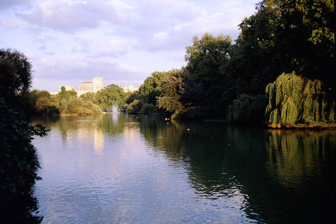 St James's Park in London came out top