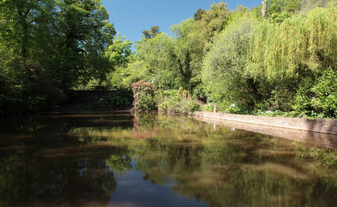 Cockington Country Park is in fourth place