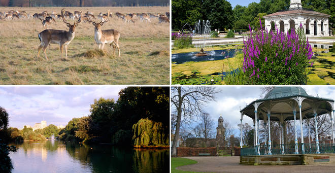 Looking for some inspo for your next walk? The list of 'most beautiful parks in the UK' has been revealed