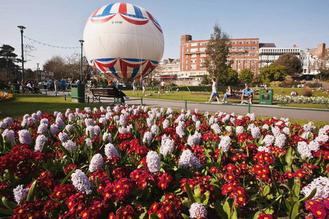 Lower Gardens in Bournemouth is in tenth place