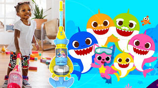 This Baby Shark vacuum cleaner actually works