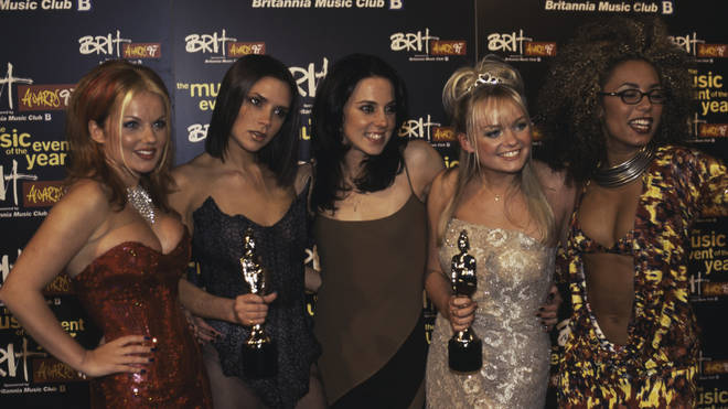 Spice Girls At The Brits