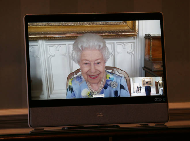The Queen held audiences with incoming Ambassadors via video link from Windsor Castle to Buckingham Palace