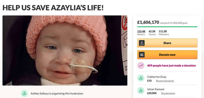 Ashley Cain and his girlfriend Safiyya have made £1.6million in memory of their daughter