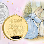 Royal Mint have released their new Peter Rabbit £5 coins