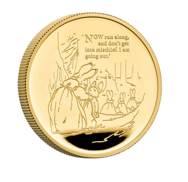 The Gold Proof Coin will set you back a whopping £2,315