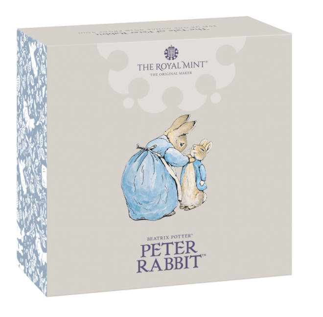 The first Peter Rabbit book was commercially published in 1902