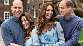 Kate Middleton and Prince William released the stunning pictures to mark a decade of marriage