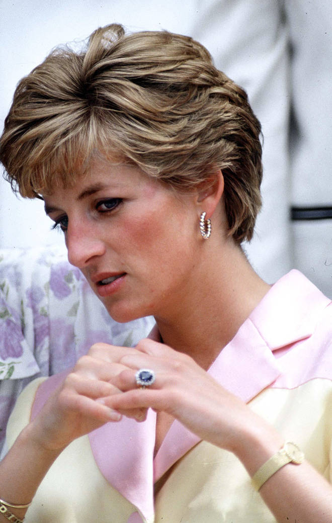 Prince Harry chose to keep Diana's engagement ring following her tragic death