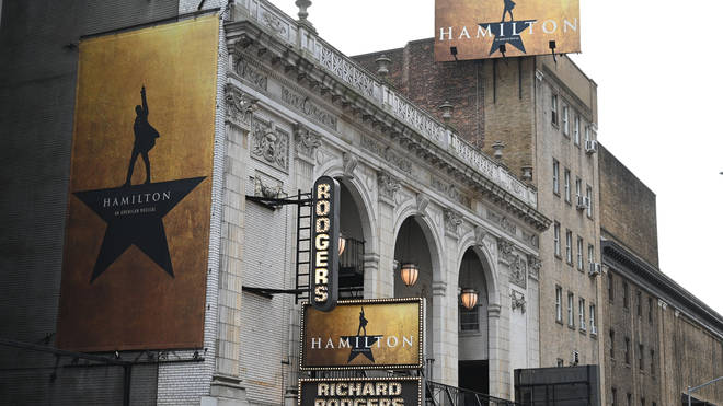 Hamilton first debuted on Broadway in 2015