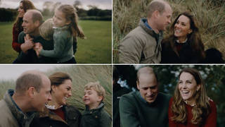 Kate Middleton and Prince William release heartwarming family video to mark anniversary