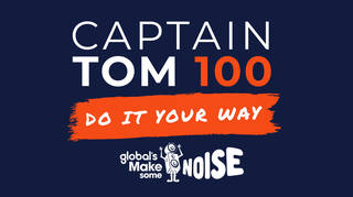 Here's how to get involved in Captain tom 100 for Global's Make Some Noise