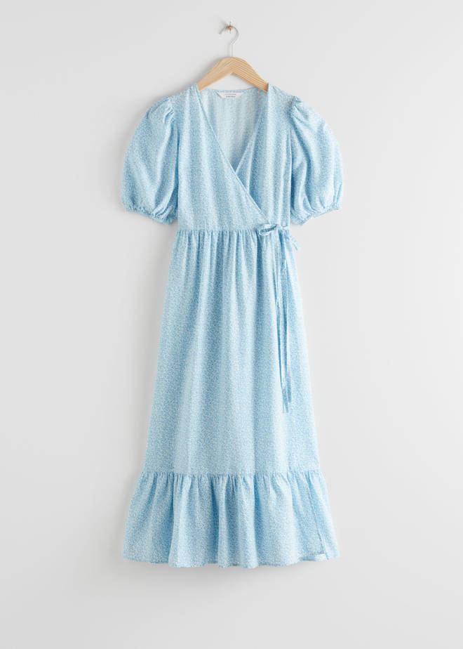 Puff Sleeve Dress, £95, & Other Stories