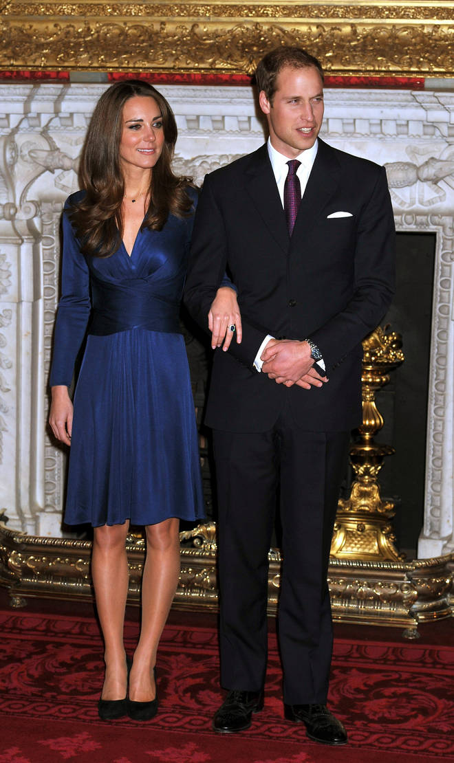 Kate and William were engaged in November 2010