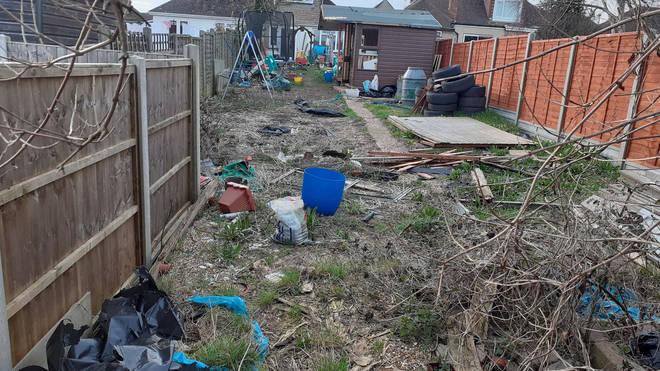 Lisa and Craig's garden was overrun with wildlife