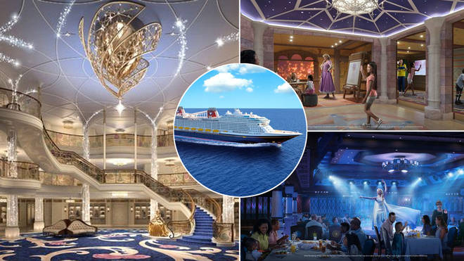 The new Disney cruise ship looks magical