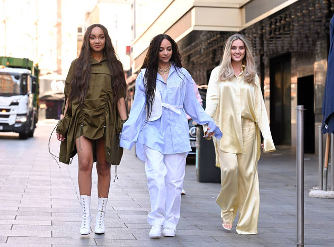 The Little Mix girls won Best Group at the 2021 Global Awards