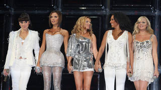 Spice Girls performing on their 2007/2008 reunion tour