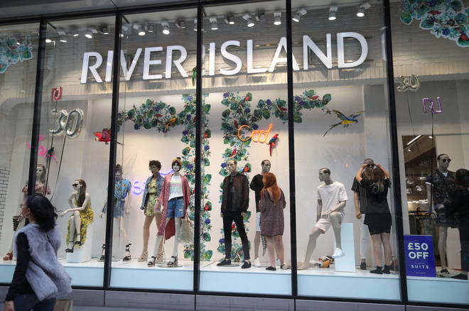 River Island has removed plus sized clothing from its stores