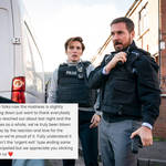 Martin Compston has addressed Line of Duty criticism