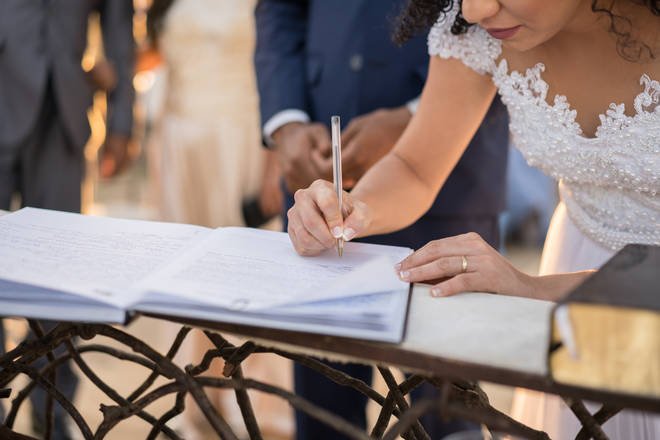 Marriage certificates in England and Wales will have to include the mother's name for first time