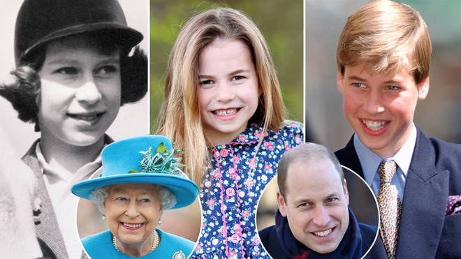 Princess Charlotte looks so much like the Queen and William in the new portrait